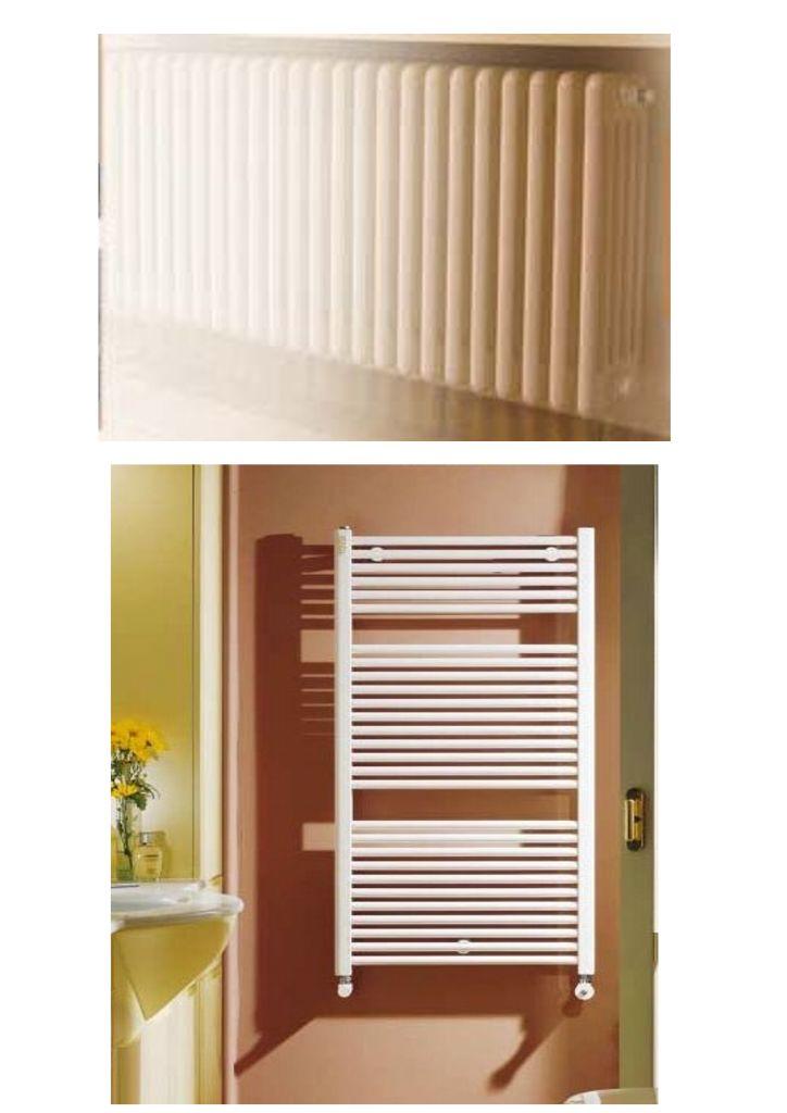unit abitative riscaldate da termosifoni in acciaio verniciato sui bagni abbiamo la soluzione con scaldasalviette